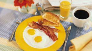 Ranní snídaně